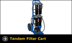 Tandem Filter Cart
