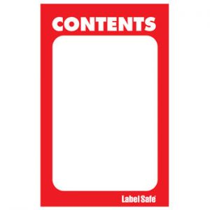 Paper Rectangle Label, 2