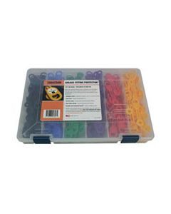"Grease Fitting Kit H, 13/32"" (10.5mm), 6 color, 240 pc"