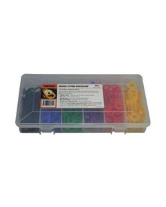 "Grease Fitting Kit L, 17/32"" (13.5mm), 6 color, 60 pc"