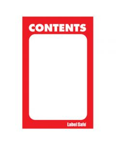 "Paper Rectangle Label, 2"" x 3.5"""